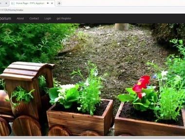 Customized E-commerce website