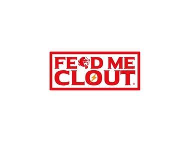 FEED ME CLOUT LOGO DESIGN