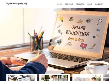 Web Design : Top Online Degree