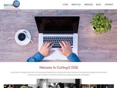 Web Design : Cutting Edge