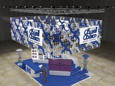 Exhibition stand Obeikan