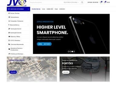 Ecommerce Website Using WordPress