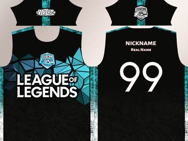 League Of Legends Jersey