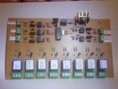 Control Lavadora con MicroControlador
