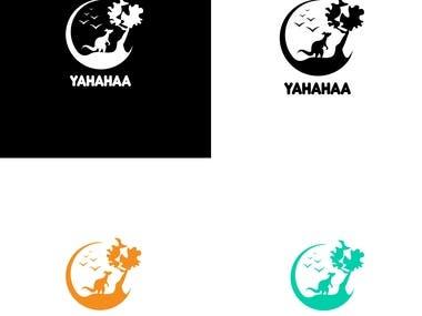 "Logo for ""YAHAHAA"""