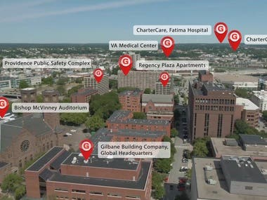 Gilbane Video Tracked with Callouts Graphics