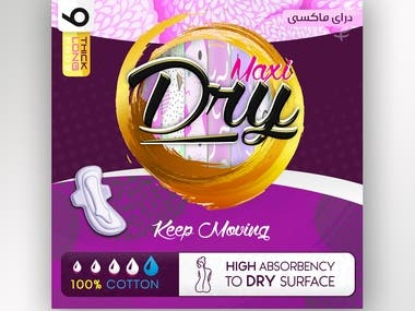 Dry Maxi New Packing