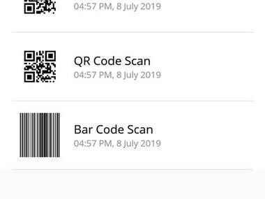 QR/Bar Code Generator.