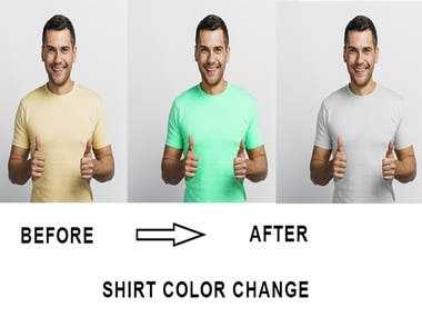 Product Color Change