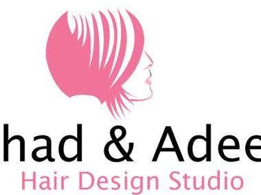 Female Hair Dressser Logos