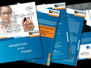 Brochure designing for an IT firm
