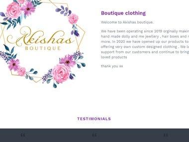 Shopify site fix