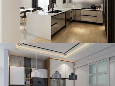 Kitchen Design & 3D Visual