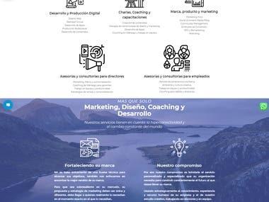 Pagina web Revoluciona tu marca