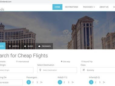 Flight, Bus & Hotel Booking services