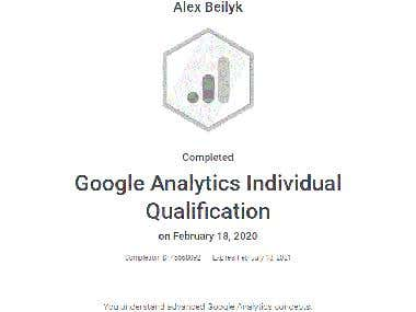 Google Anlytics Individual Certification