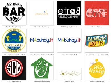 Completed Logo Designs