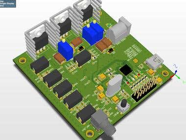 13.56 MHz RFID reader with power amplifier