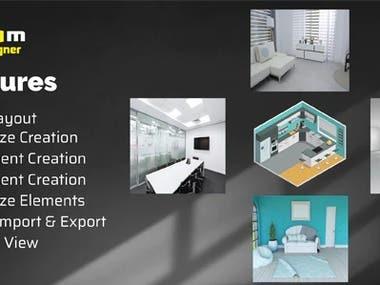 React Room Design