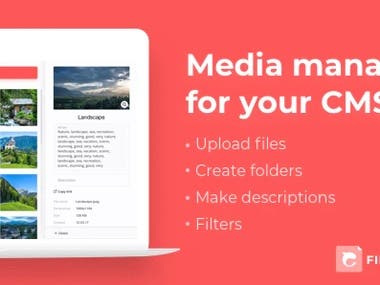 React Media Manager