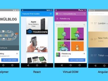 Progress Web App