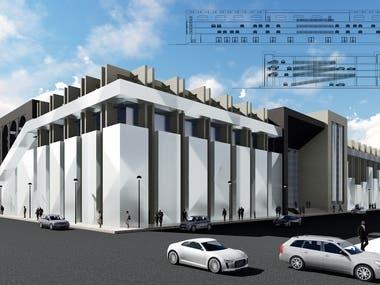 Multistory parking - Libya
