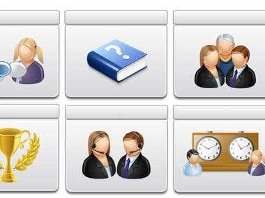 Winning Icon Set