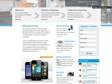 Joomla 2.5 Website