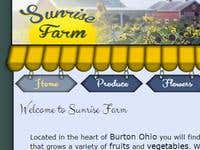 Sunrise Farm Website