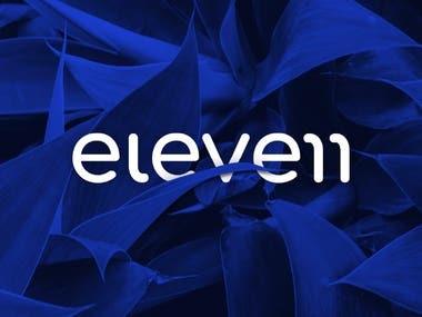Eleven Writing Studios Logo Design & Social Media Design
