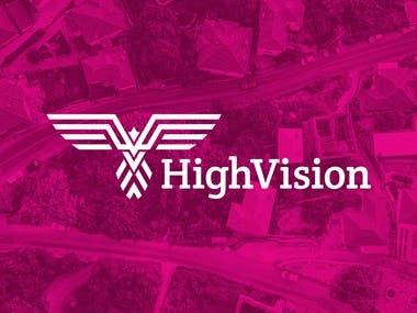 High Vision Logo Re-design Concept (unused)