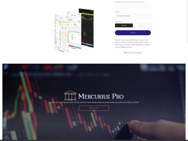Mercurius Pro - Trading Platform