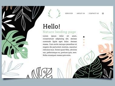 Landing Page.