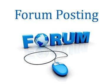 Forum Posting || Add Posting || Classified Add Posting