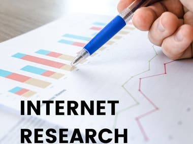 Internet Research || Business Analytics || Online Research