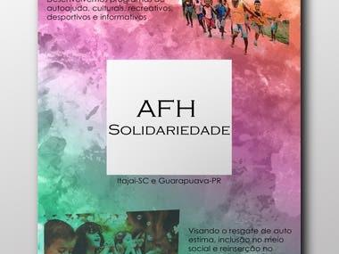 Folder para uma ONG