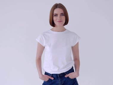 I will do t shirt, product mock up video