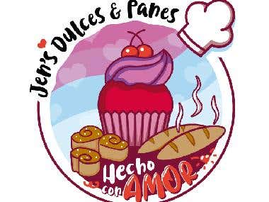 Logo de Panaderia-pasteleria Jen's