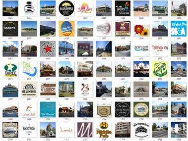 Business Logos or Destination Images