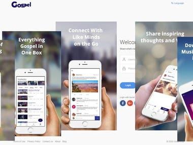 Ionic Framework Mobile App