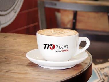 Trochain Mobile APP Logo Design