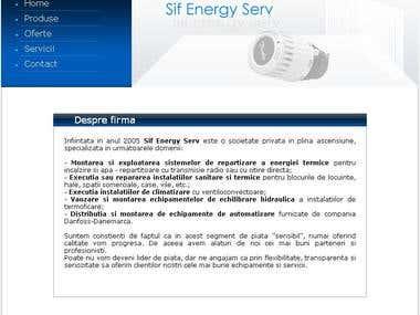 SIF Energy Serv