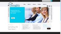 Ethought a web development company website