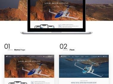 Jet Token - Wix Website
