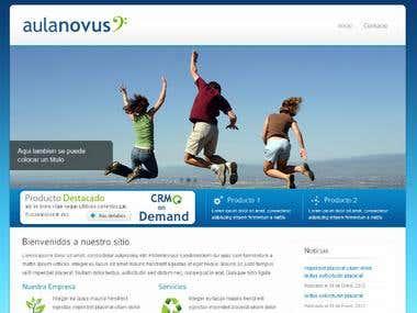 Aulanovus Umbraco Site
