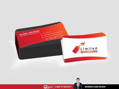 Business Card Design for Bargains