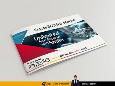 Booklet design for Razelle