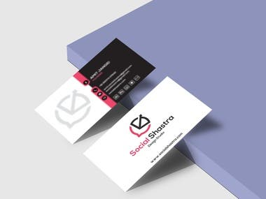 Visiting Card Design.