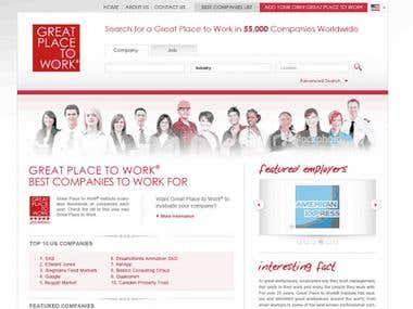 Website: search - review companies and jobs