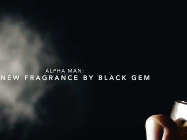 Video Ad Alpha Man: The new fragrance by Black Gem
